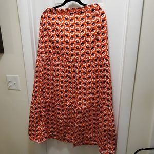 NWT Boden tiered maxi skirt